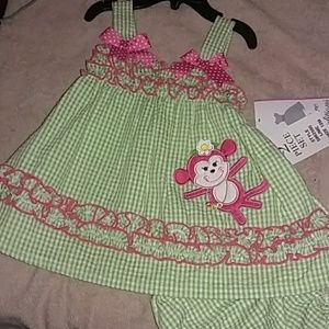 Other - Infant matching dress set